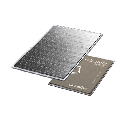 100 x 1 Gram Valcambi CombiBar™