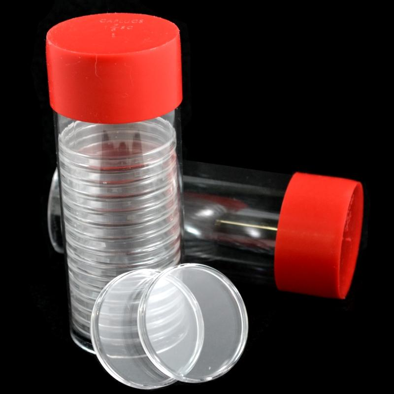 Storage-Tubes for Air-Tite Coin Capsules