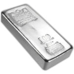 100 oz Republic Metals Corporation Silver Bar