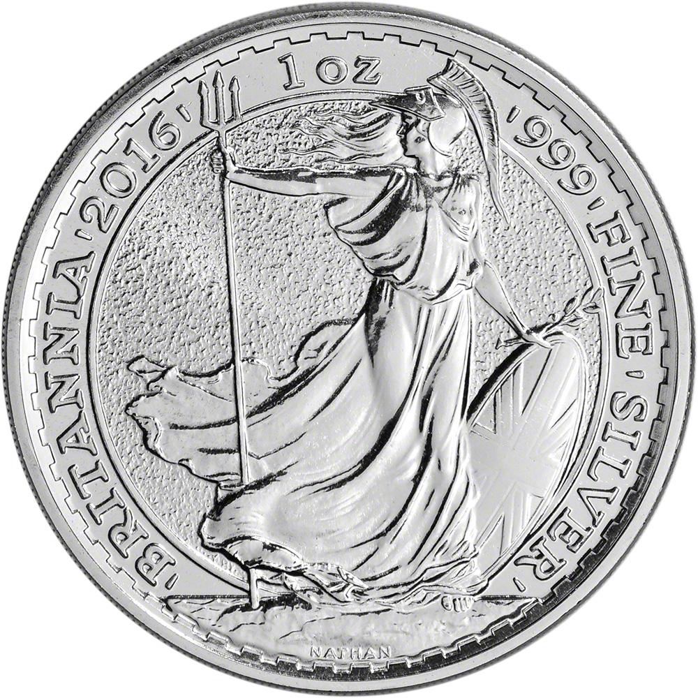 1 oz British Silver Britannia BU (2017)