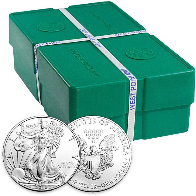 500 oz American Silver Eagle Monster Box