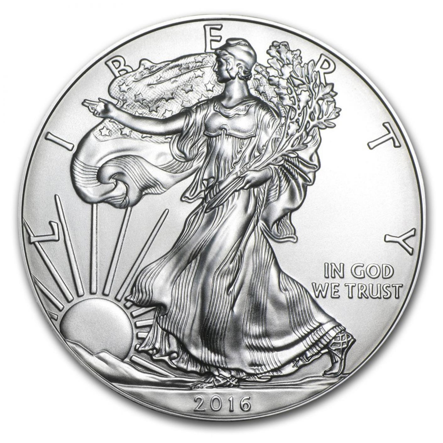 1 oz American Silver Eagle BU