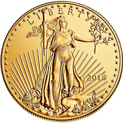1 oz American Gold Eagle 2017 BU