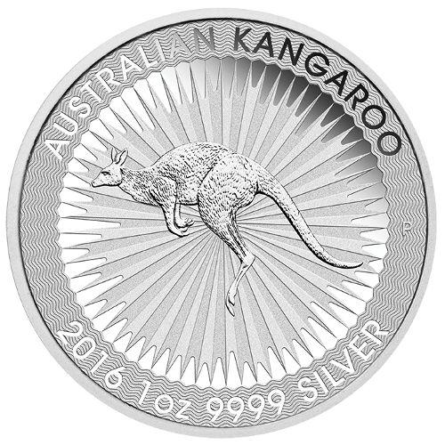 1 oz Australian Silver Kangaroo BU