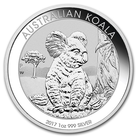 1 oz Australian Silver Koala BU (2017)