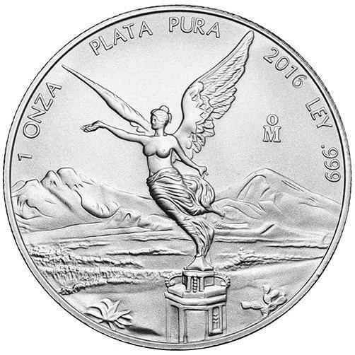 1 oz Mexican Silver Libertad BU