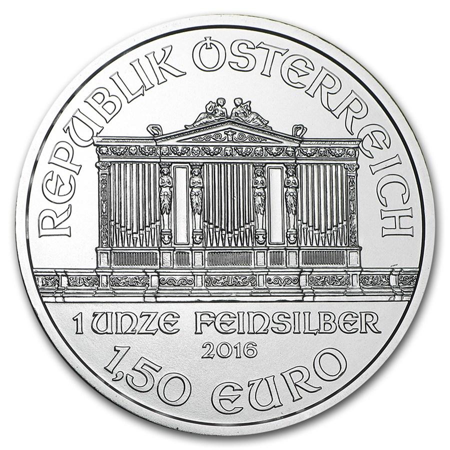 1 oz Austrian Silver Philharmonic BU (2017)