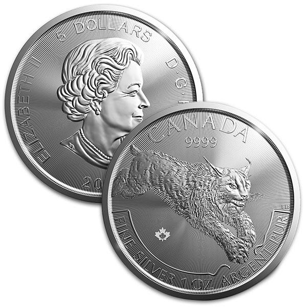 Predator Series (coin 2) – 1 oz Lynx BU (2017)