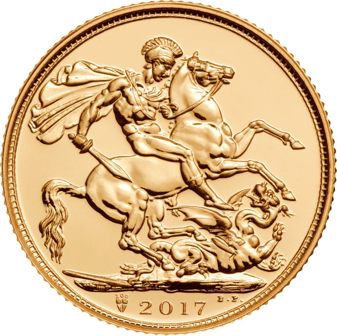 The Gold Sovereign 2017 BU