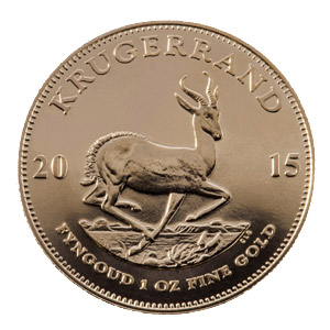 1 oz Krugerrand – SOLD IN CAPSULES