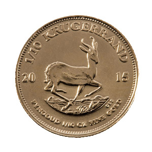 1/10 oz Krugerrand – SOLD IN CAPSULES