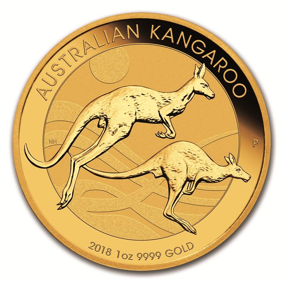 NEW PRODUCT: 1 oz Australian Gold Kangaroo BU 2018