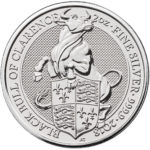 2 oz GB Queen's Beasts – Black Bull of Clarence (Coin 5 of 10) RESERVE YOURS